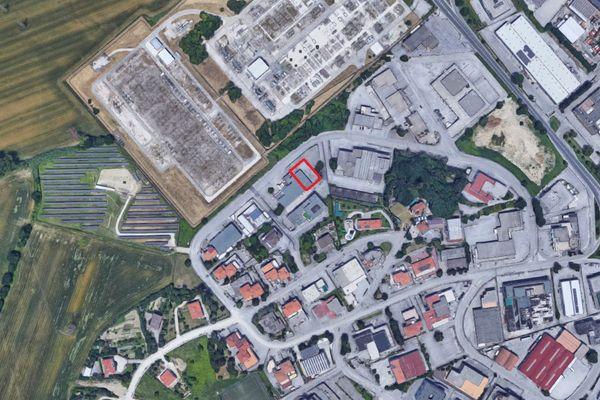 Immagine n0 - Planimetria - Vista aerea - Asta 4158