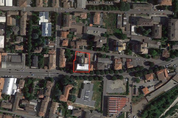 Immagine n1 - Planimetria - Vista aerea - Asta 4190