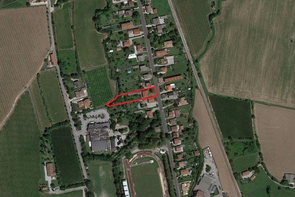 Immagine n1 - Planimetria - Vista aerea - Asta 4202