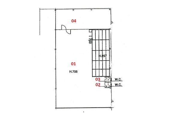 Immagine n1 - Planimetry - Ground floor - Asta 4207