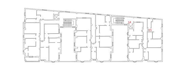 Immagine n1 - Planimetria - Piano Primo - Asta 4217