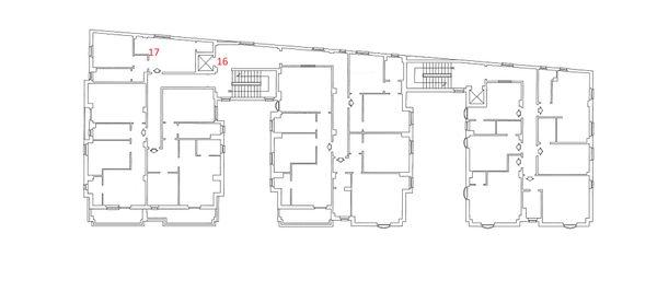 Immagine n1 - Planimetria - Piano Secondo - Asta 4217