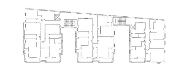 Immagine n4 - Planimetria - Piano Terzo - Asta 4217