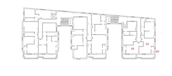 Immagine n2 - Planimetria - Piano Quarto - Asta 4217