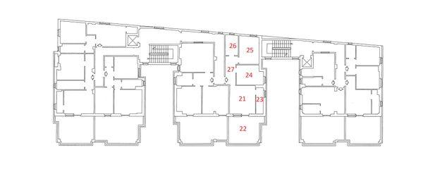 Immagine n6 - Planimetria - Piano Quinto - Asta 4217