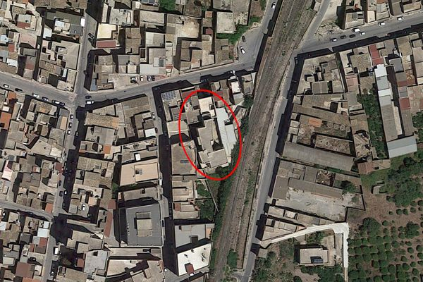 Immagine n0 - Planimetria - Vista aerea - Asta 4234