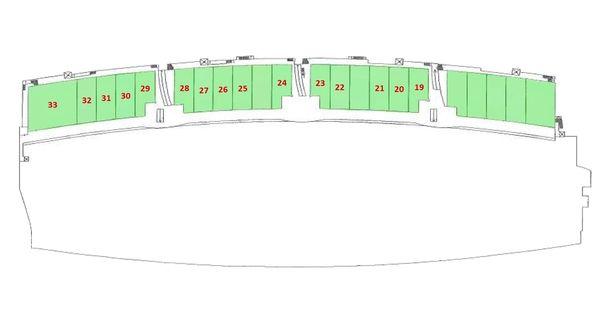 Immagine n2 - Planimetria - Piano secondo - Asta 4235