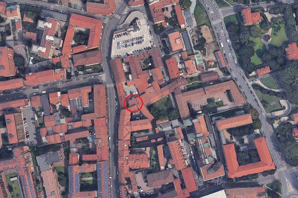 Immagine n0 - Planimetria - Vista aerea - Asta 4265