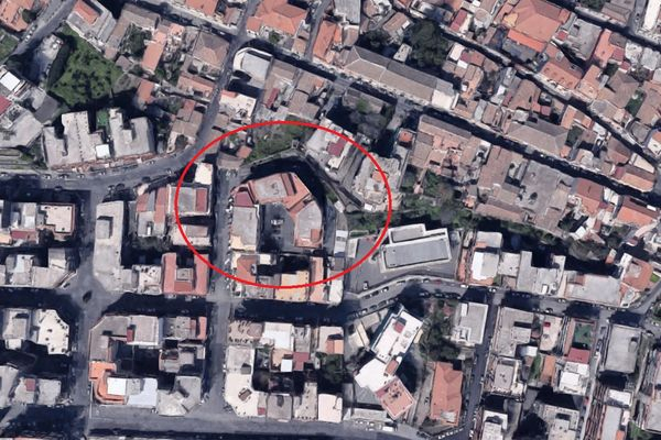 Immagine n0 - Planimetria - Vista aerea - Asta 4322