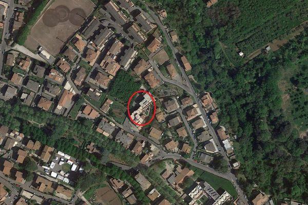 Immagine n0 - Planimetria - Vista aerea - Asta 4328