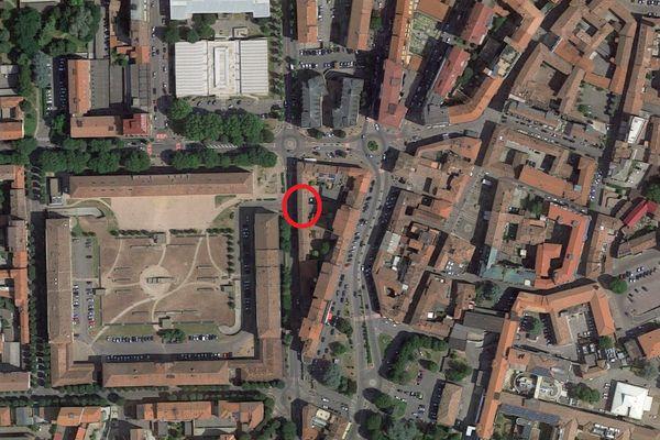 Immagine n0 - Planimetria - Vista aerea - Asta 4360