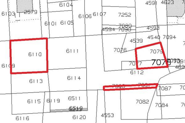 Immagine n1 - Planimetria - Estratto di mappa - Asta 4418