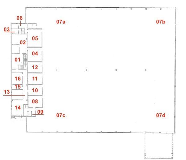 Immagine n0 - Planimetria - Piano terra - Asta 4434