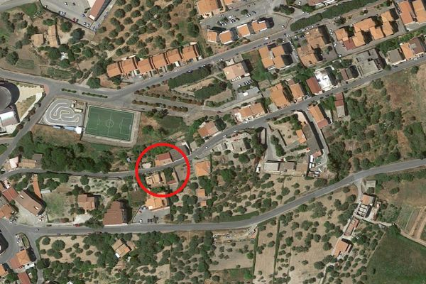 Immagine n0 - Planimetria - Vista aerea - Asta 4456
