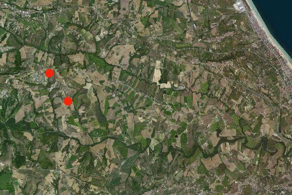 Immagine n0 - Planimetria - Vista aerea - Asta 4477
