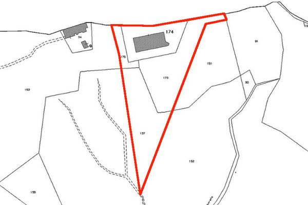 Immagine n1 - Planimetria - Estratto mappa 2 - Asta 4477
