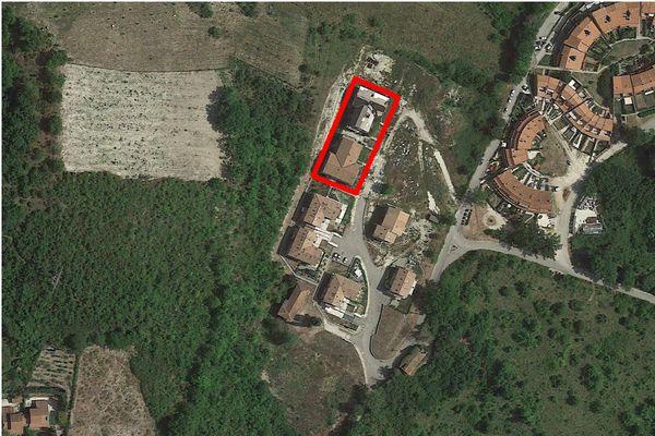 Immagine n0 - Planimetria - Vista aerea - Asta 4497