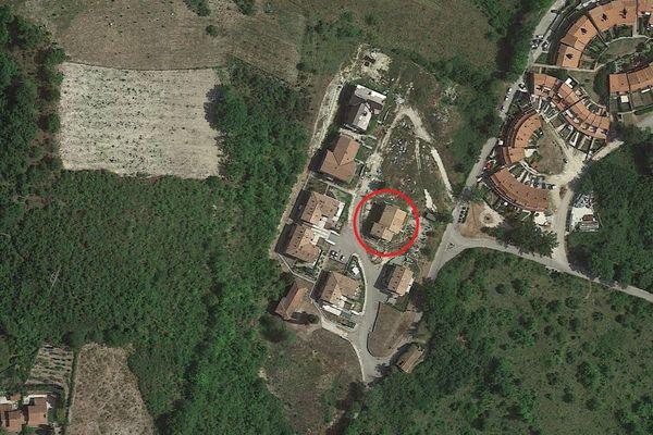 Immagine n1 - Planimetria - Vista aérea - Asta 4498