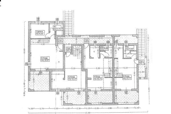 Immagine n2 - Planimetria - Primer piso - Asta 4498