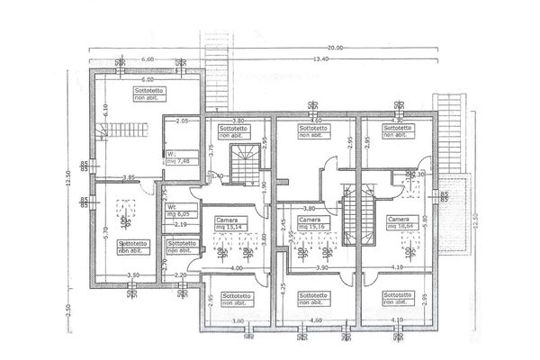 Immagine n3 - Planimetria - Segundo piso - Asta 4498