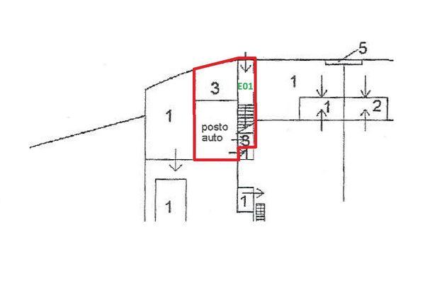 Immagine n1 - Planimetria - Piano terra - Asta 4500