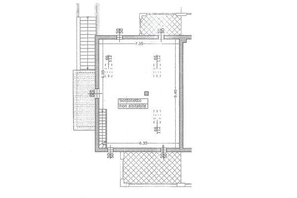 Immagine n3 - Planimetria - Piano secondo - Asta 4500