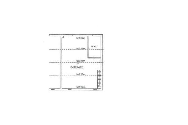 Immagine n0 - Planimetria - Piano secondo - Asta 4501