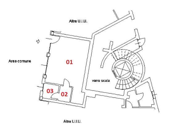 Immagine n1 - Planimetria - Piano terra - Asta 4573