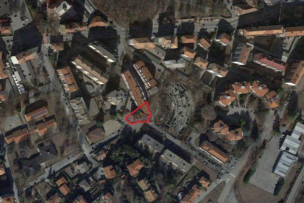 Immagine n2 - Planimetria - Vista aerea - Asta 4579