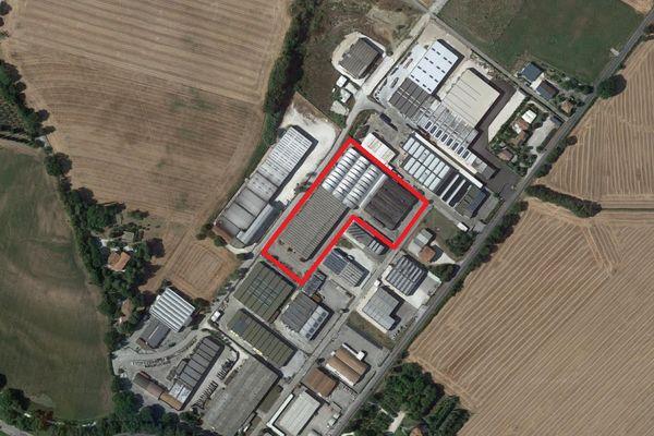 Immagine n0 - Planimetria - Vista aerea - Asta 4594