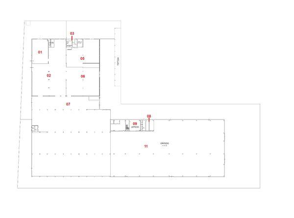 Immagine n8 - Planimetria - Piano terra - Asta 4594
