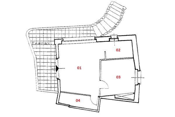 Immagine n1 - Planimetria - Piano primo - Asta 4602