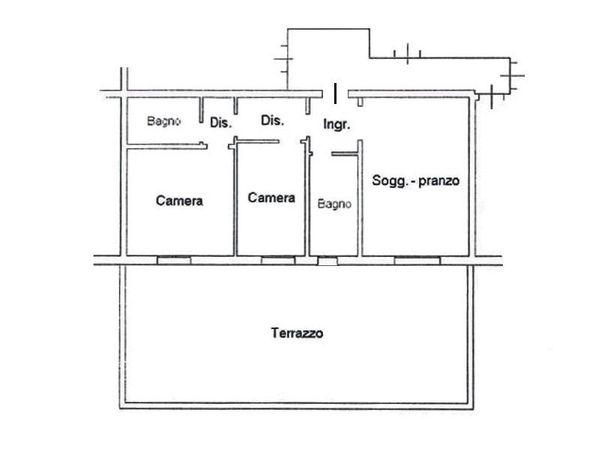 Immagine n1 - Planimetria - Piano primo - Asta 4608