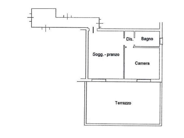 Immagine n1 - Planimetria - Piano primo - Asta 4610