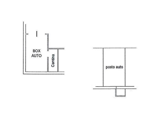 Immagine n1 - Planimetria - Piano interrato - Asta 4610