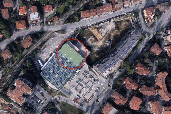 Immagine n1 - Planimetria - Vista aerea - Asta 4624