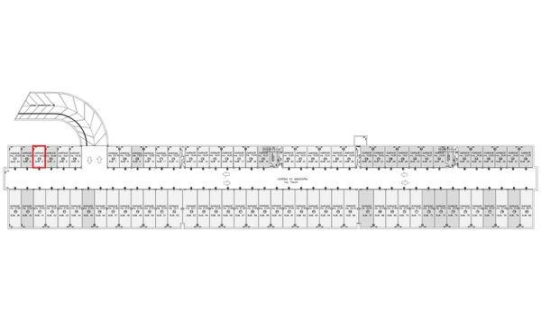 Immagine n0 - Planimetria - Posto auto - Asta 4637