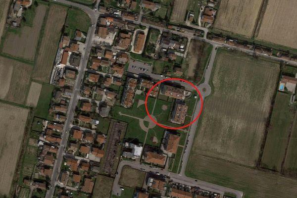Immagine n1 - Planimetria - Vista aerea - Asta 4791