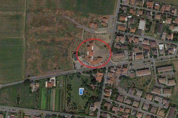 Immagine n1 - Planimetria - Vista aerea - Asta 4793