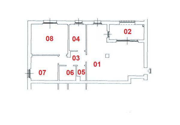 Immagine n1 - Planimetria - Piano Secondo - Asta 4793
