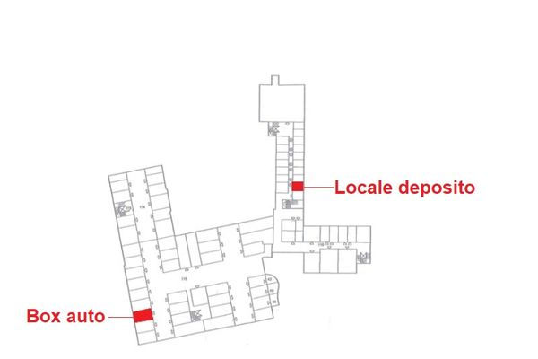 Immagine n1 - Planimetria - Piano Interrato - Asta 4793