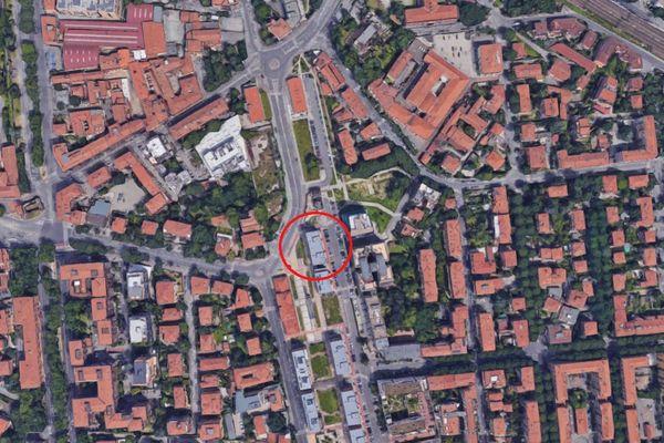 Immagine n1 - Planimetria - Vista aerea - Asta 4795