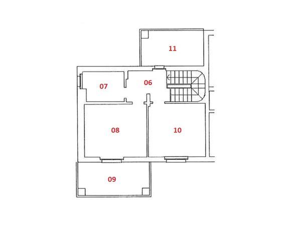 Immagine n0 - Planimetry - Second floor - Asta 4819