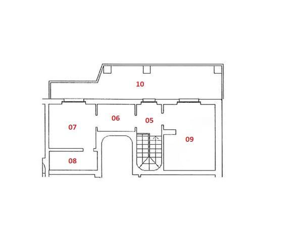 Immagine n0 - Planimetria - Piano secondo - Asta 4823