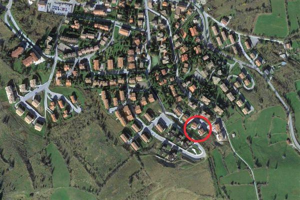 Immagine n0 - Planimetria - Vista aerea - Asta 4825