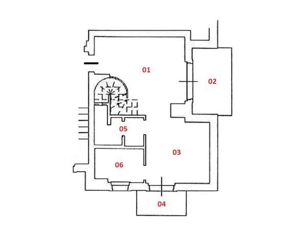Immagine n0 - Planimetria - Piano primo - Asta 4825