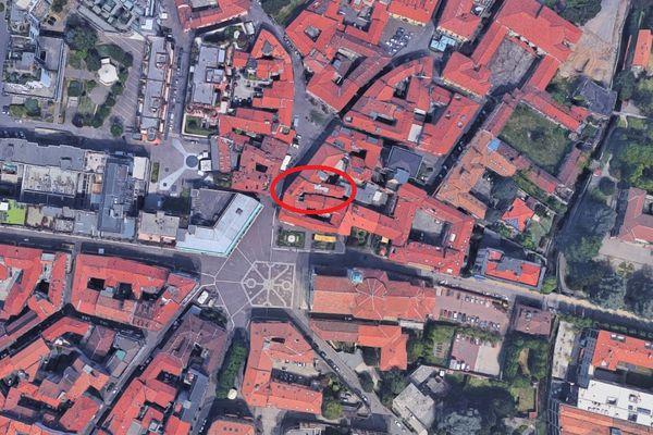 Immagine n0 - Planimetria - Vista aerea - Asta 4854