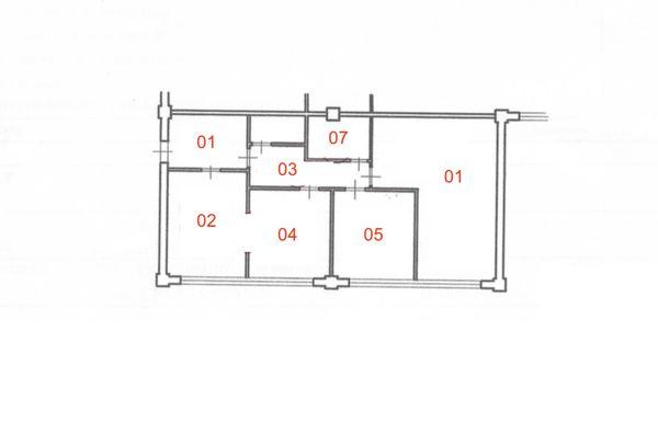 Immagine n0 - Planimetry - First floor - Asta 4881