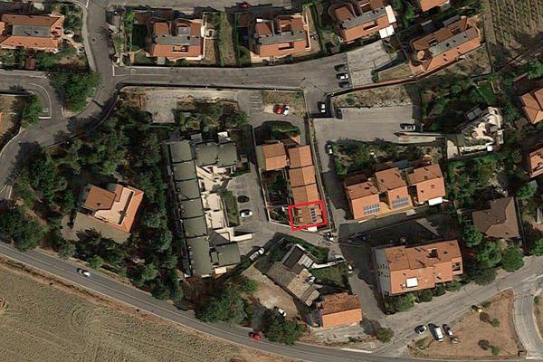 Immagine n1 - Planimetria - Vista aerea - Asta 4894