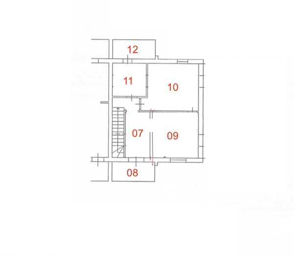 Immagine n0 - Planimetria - Piano sottotetto - Asta 4894